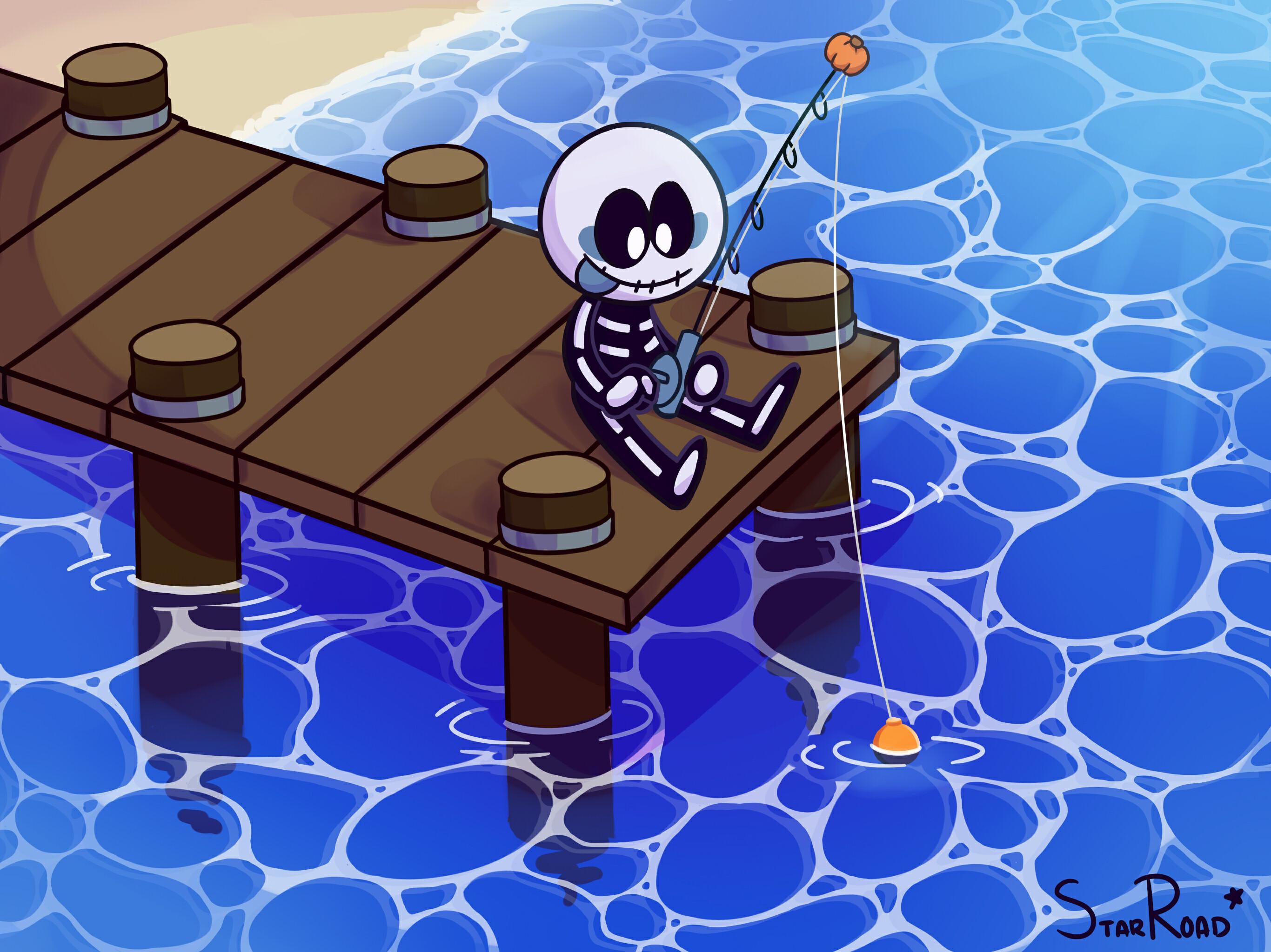 Fishing Skid