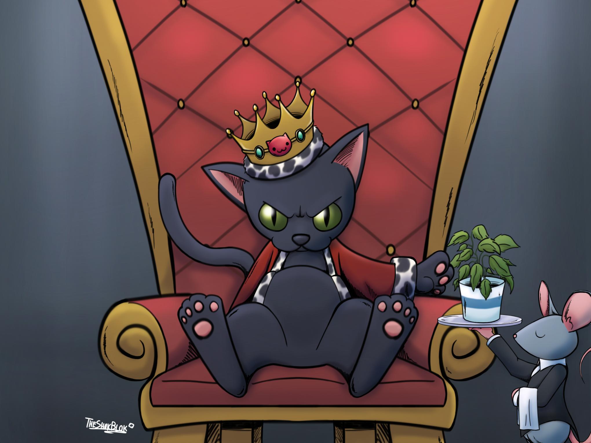 King neko
