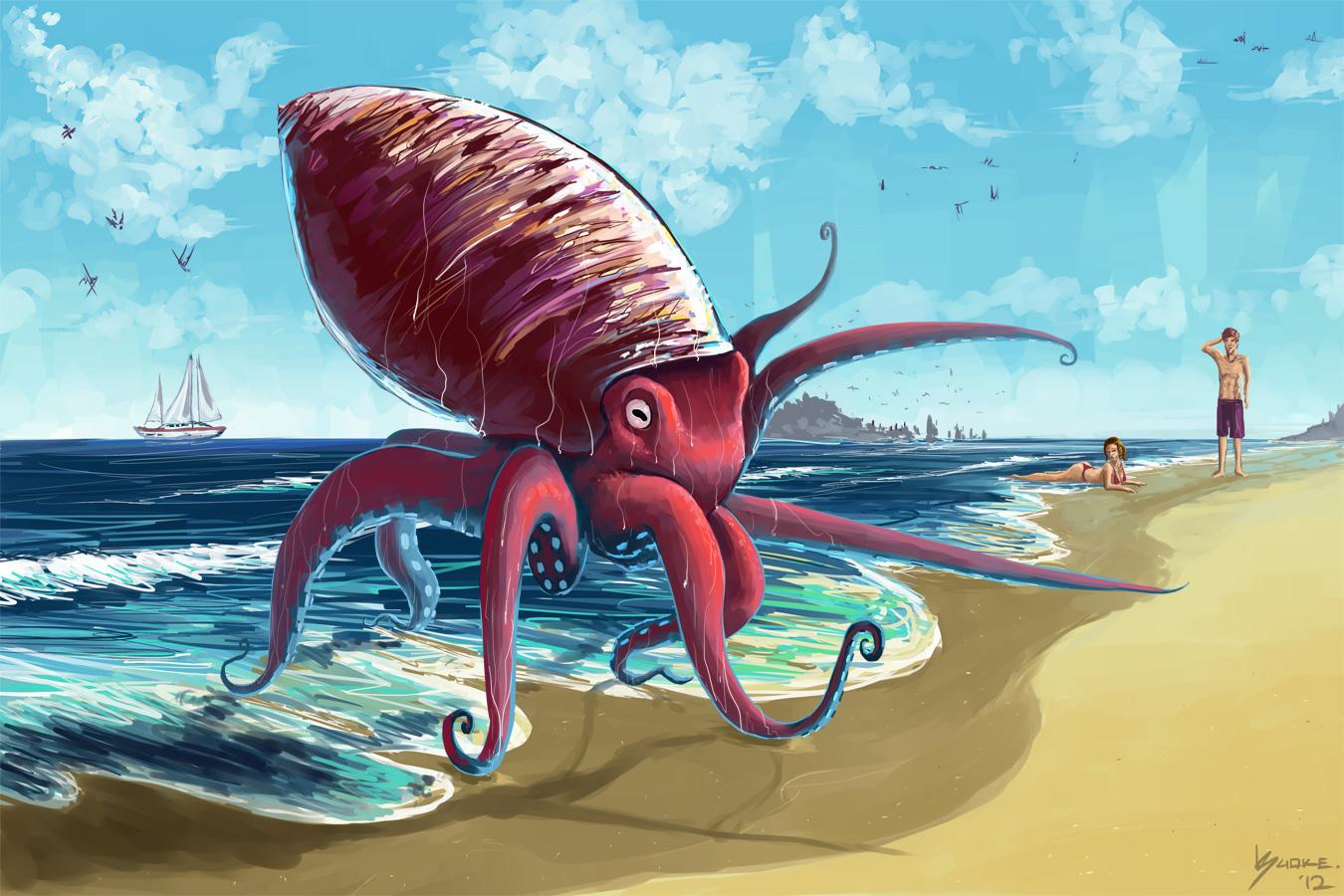 Cephalopodic Advancement.