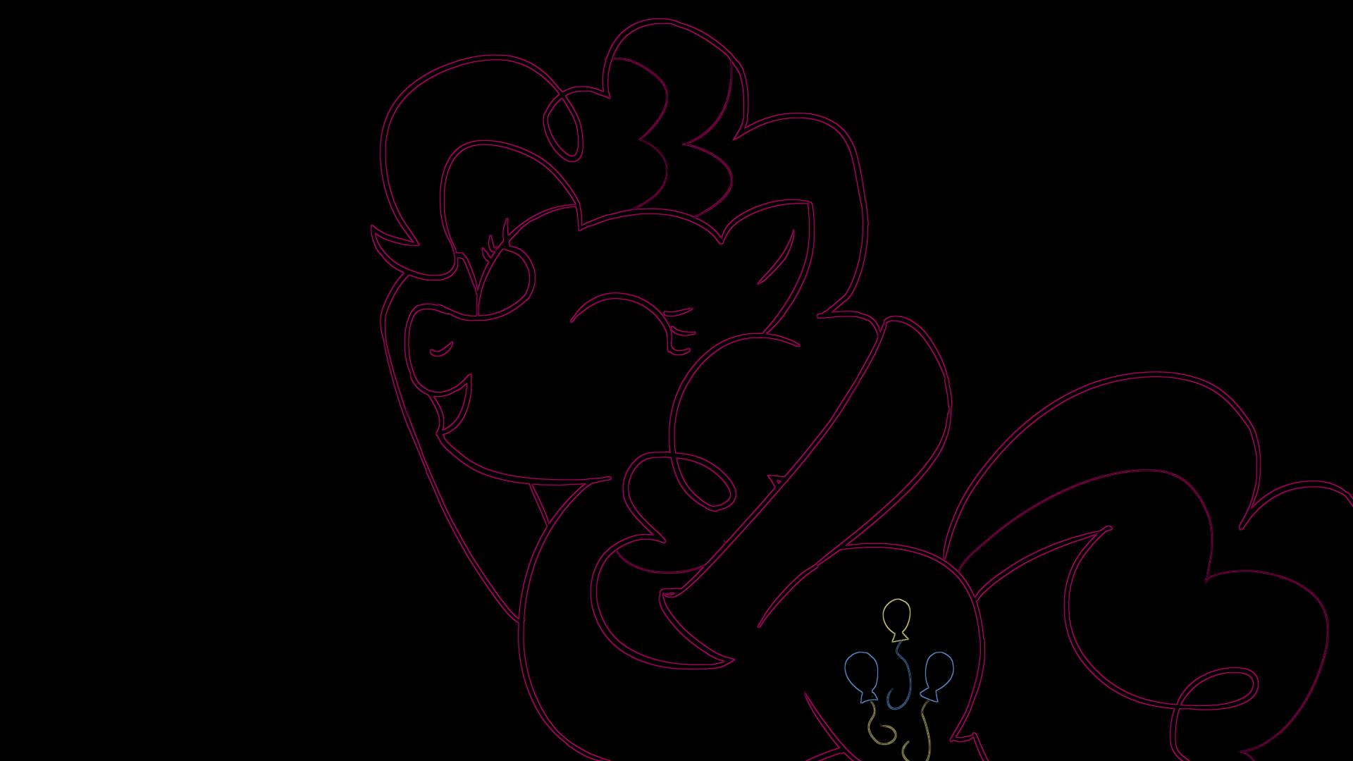 Neon Pinkie Pie