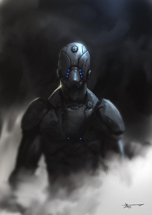 human marine