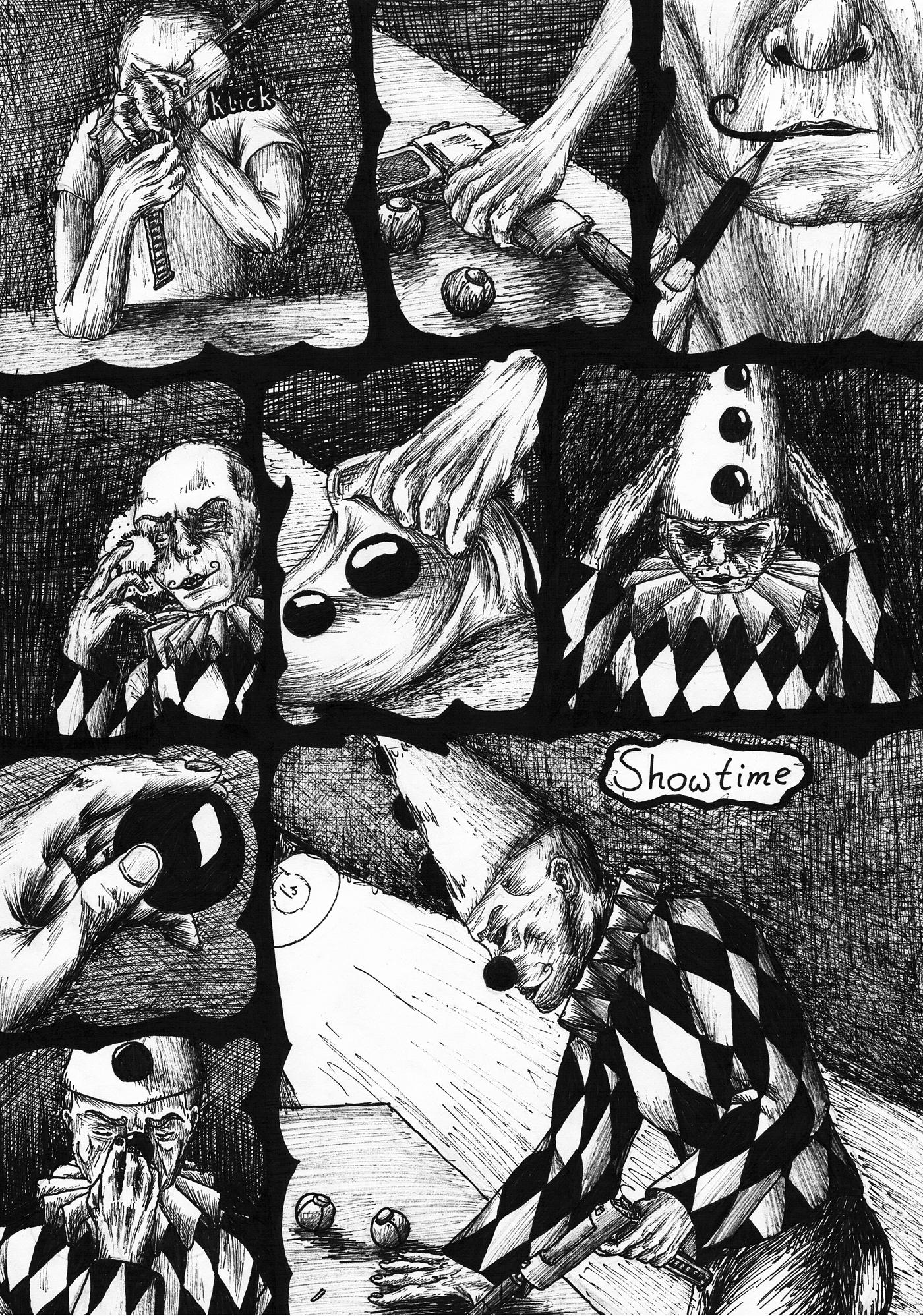 Comic page (der blinde Jakob)