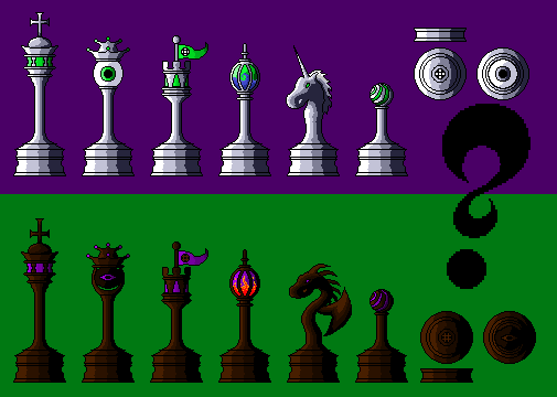 The Magician's Chess Set