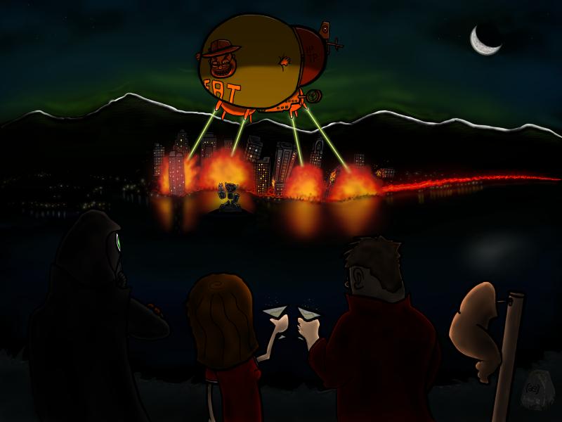 Preston - Blimp Armageddon
