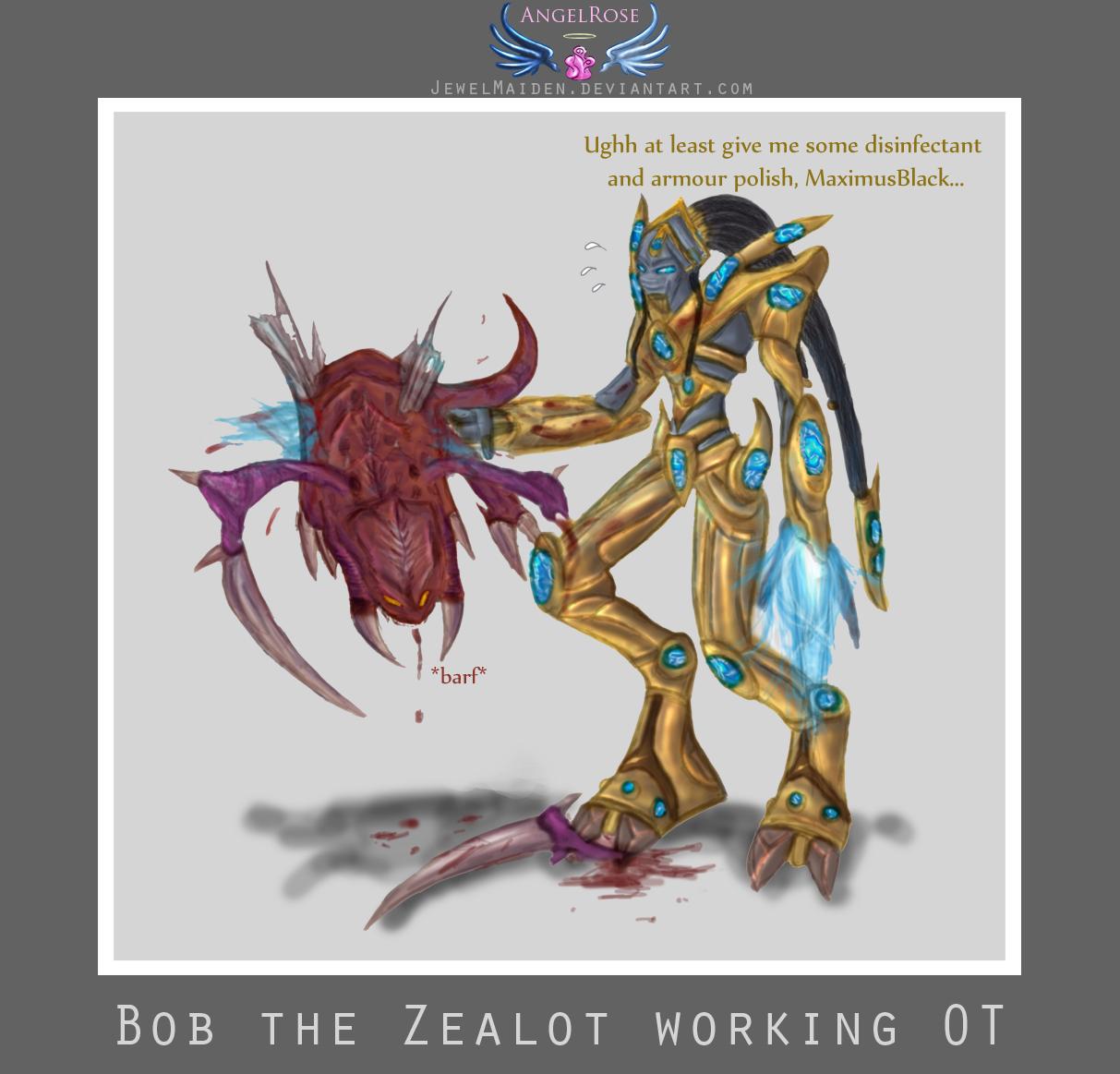 Starcraft Bob the Zealot