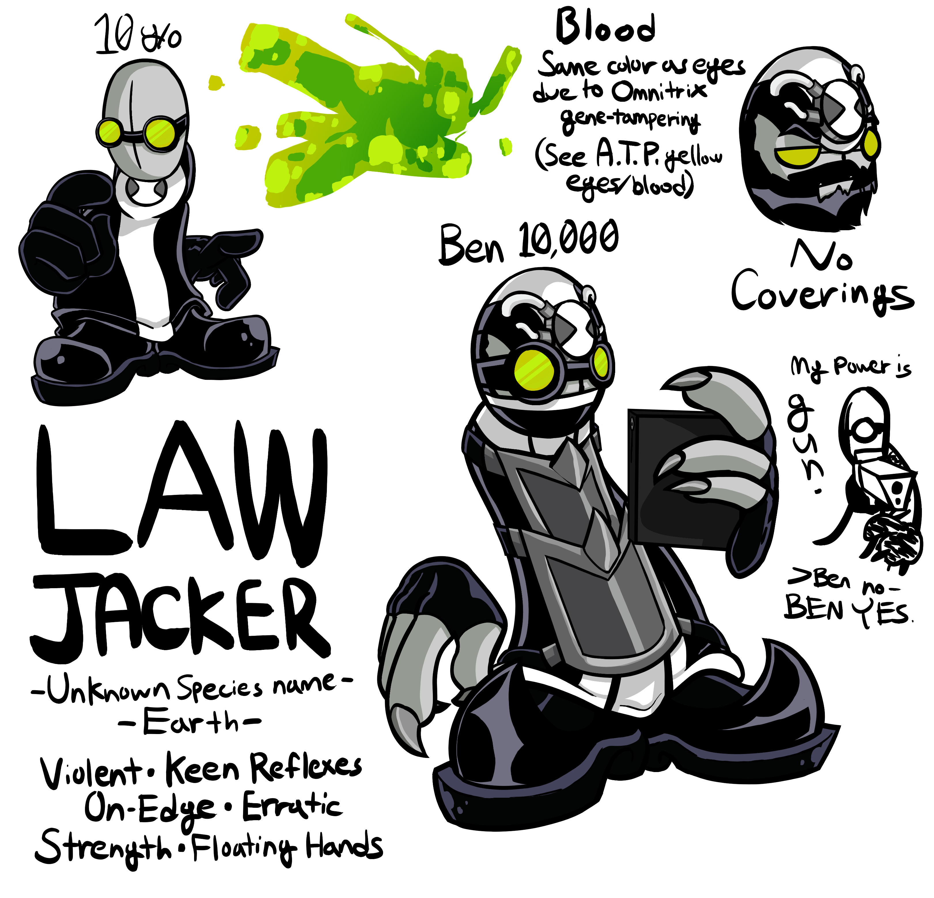 LAWJACKER {Ben 10/Madness Combat}