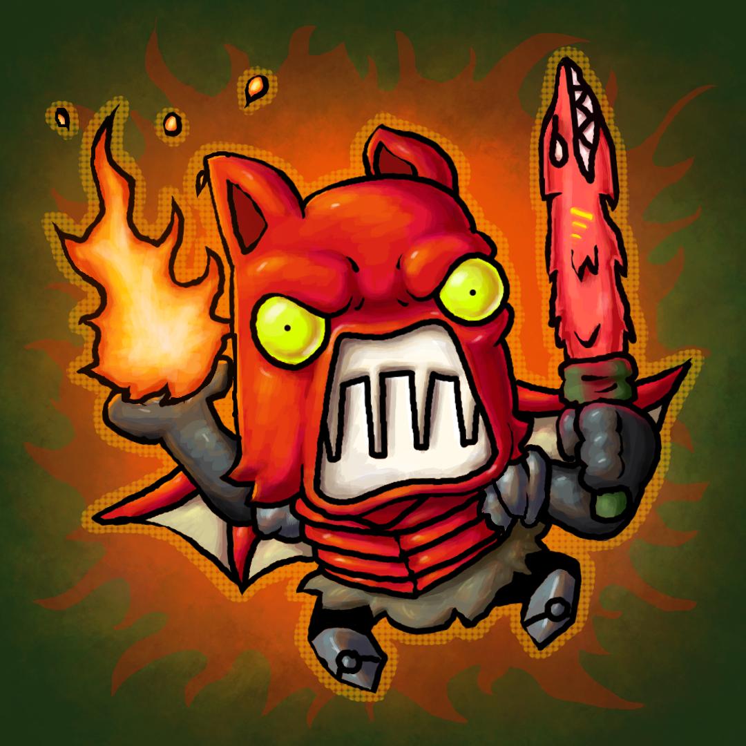 Fire Demon Fanart