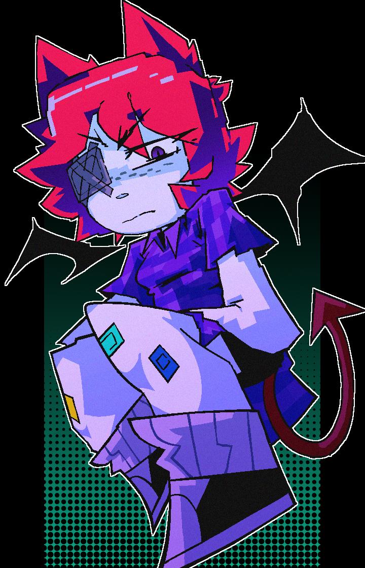 color vomit creature