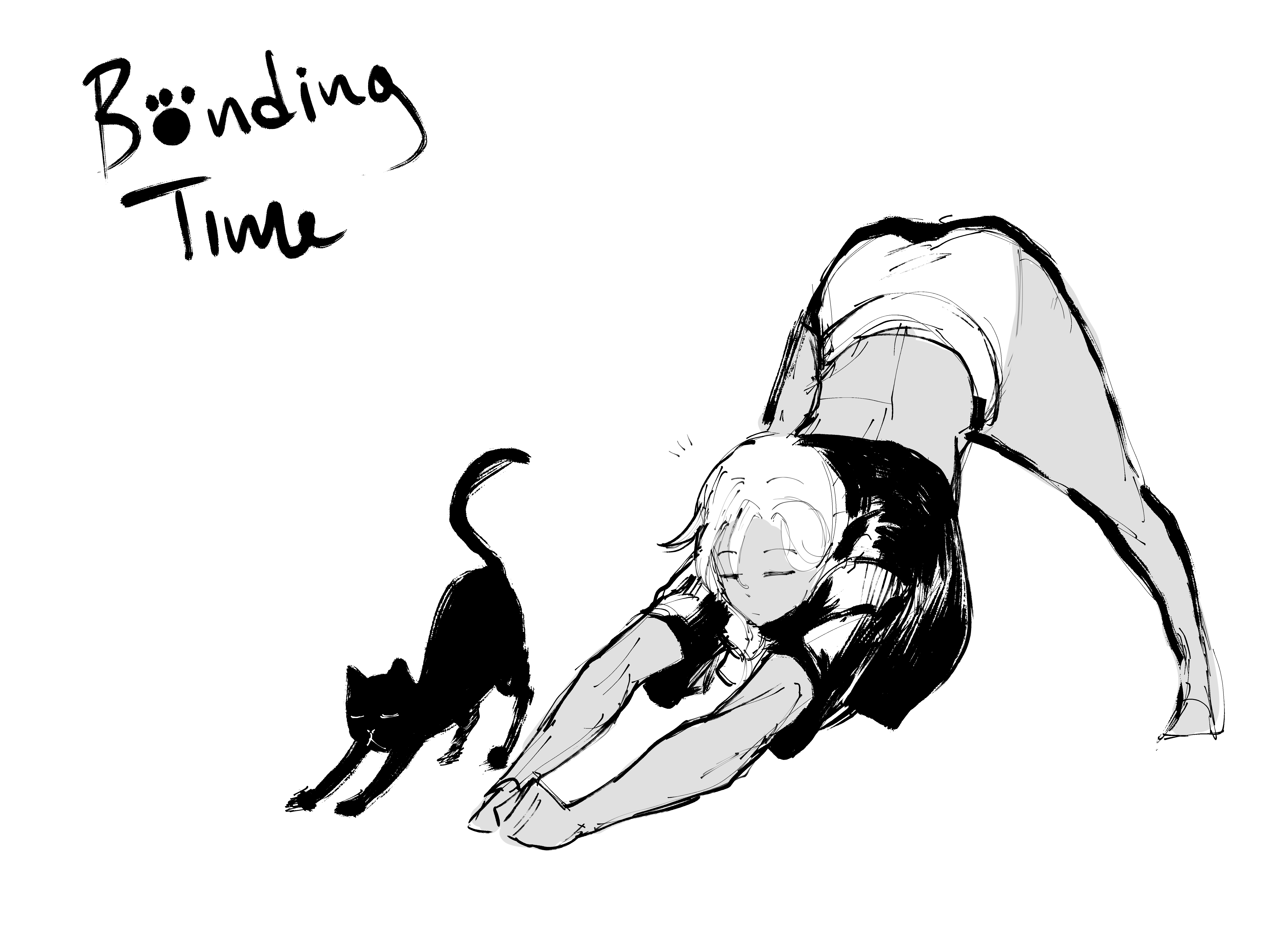 Bonding Time: Cat