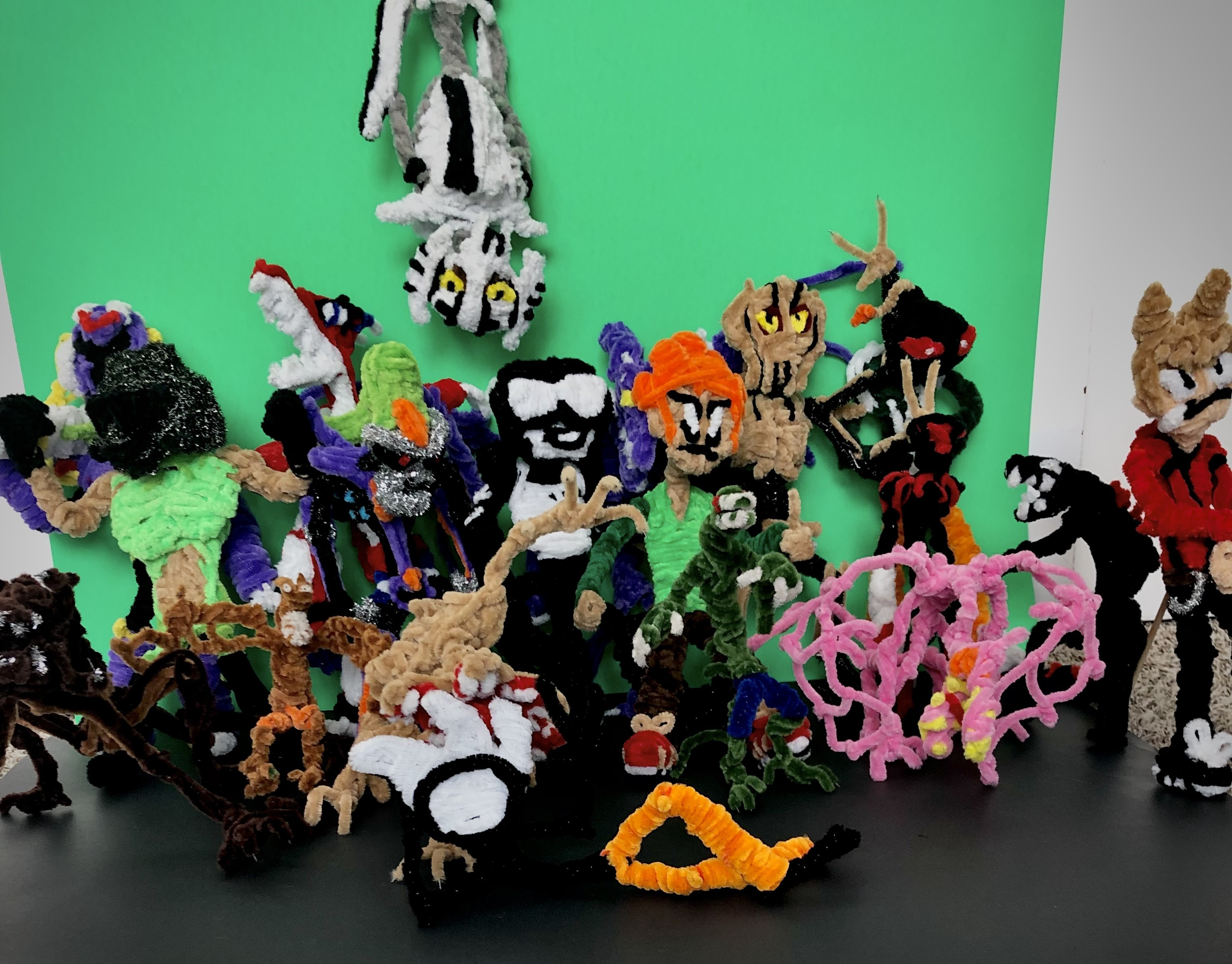 Pipe cleaner Family photo (7-17-21)