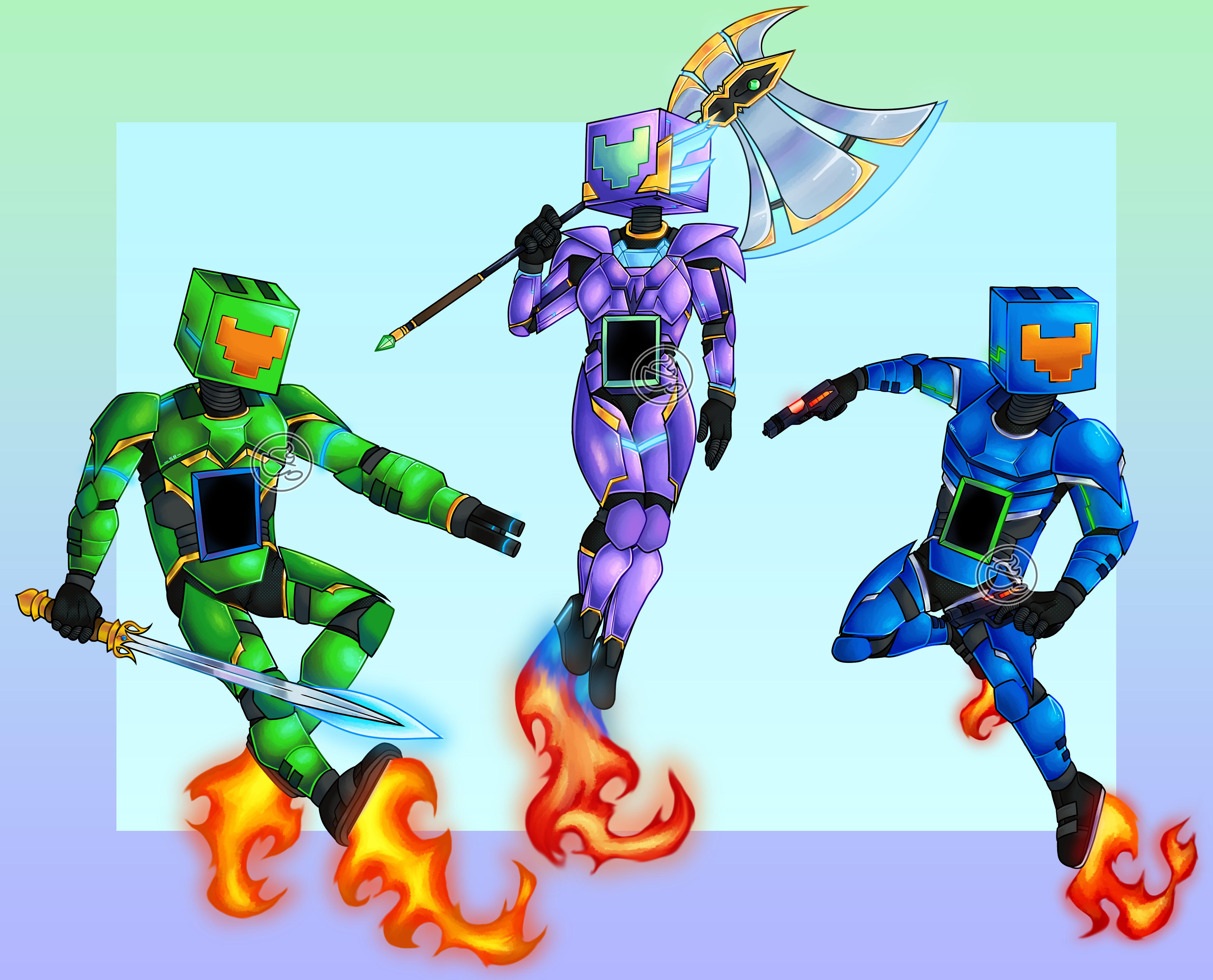 MGFlow58 Mascots