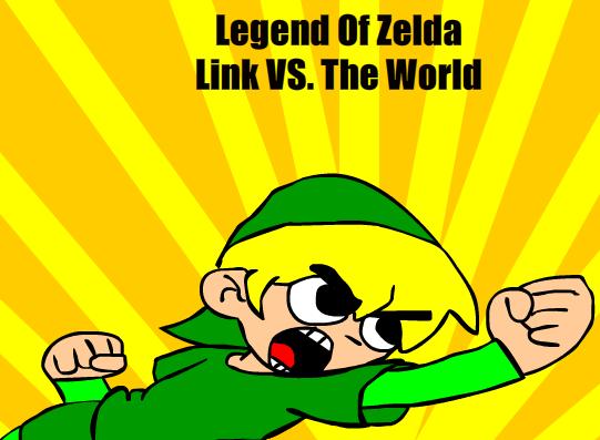 LOZ Link VS. The World