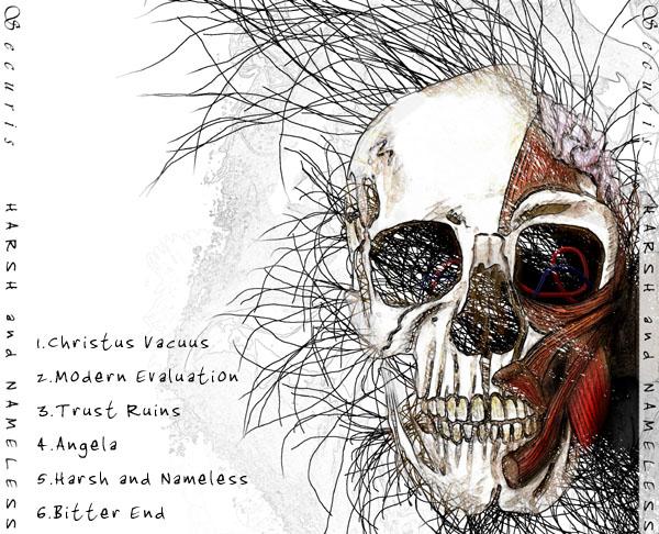Album cover art - back