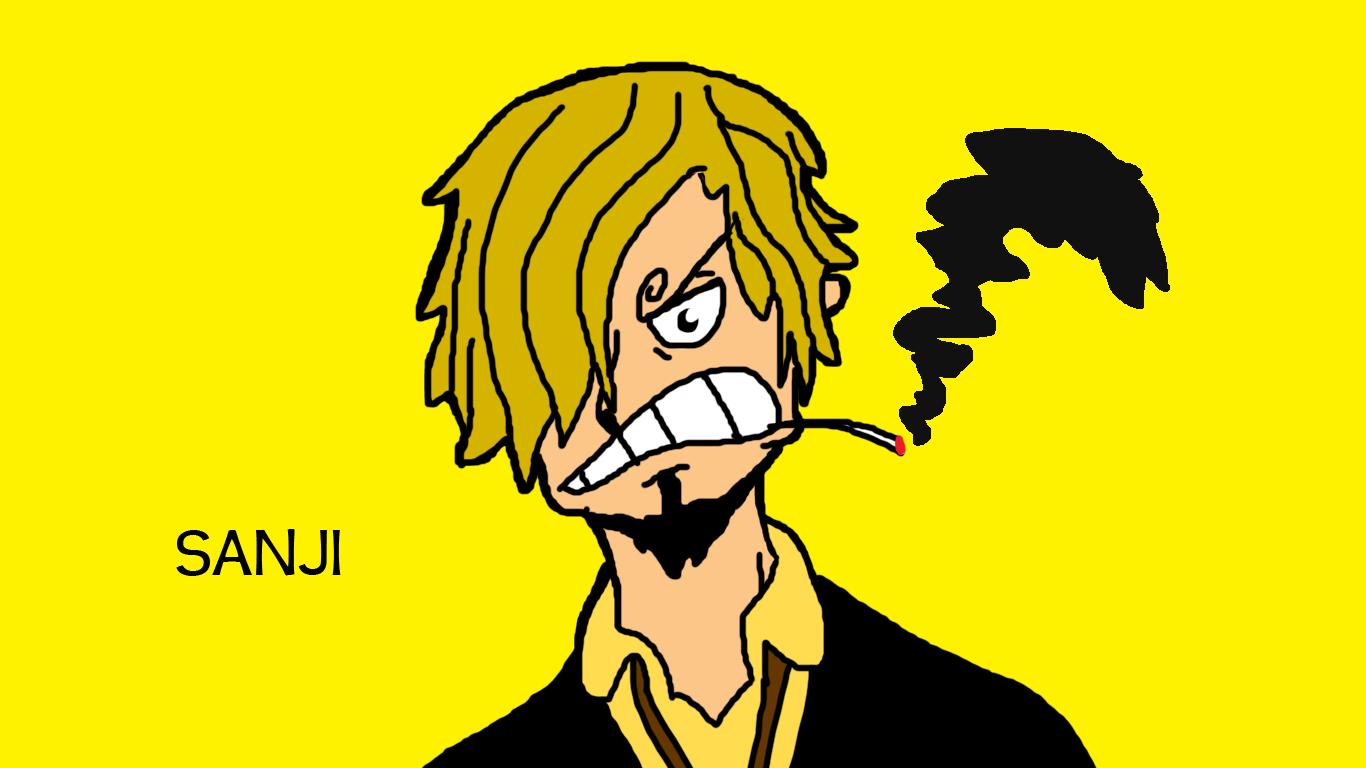 Smoking Sanji