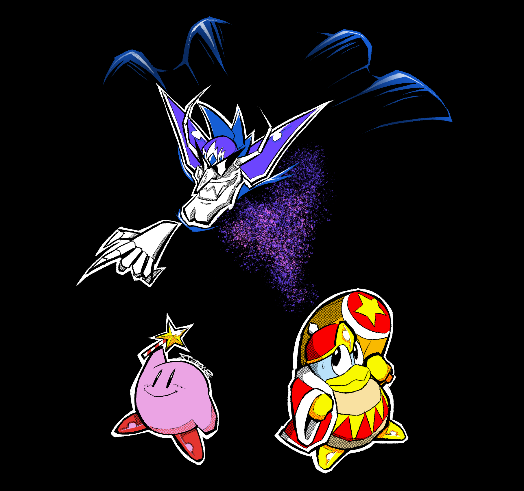 Kirby Daydreams in Nightmareland