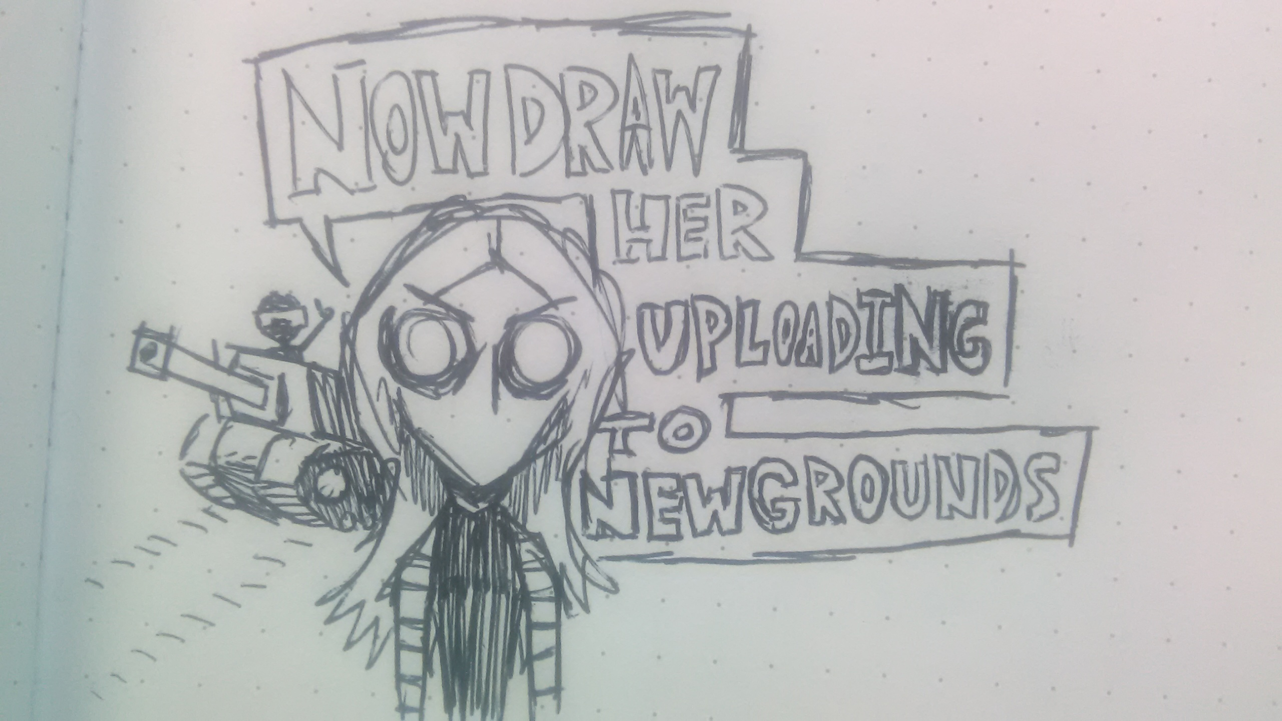 Now draw her...