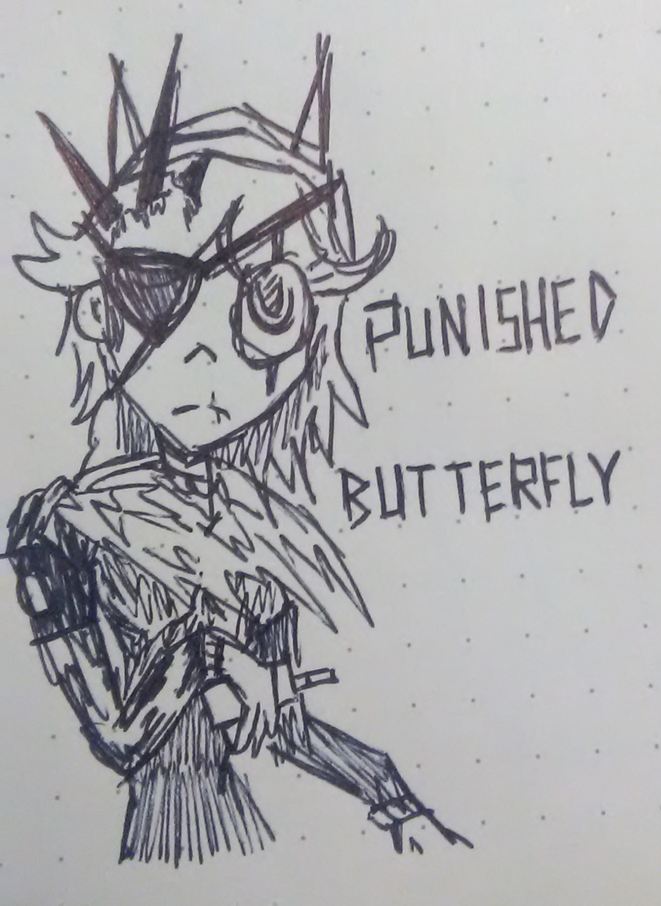 Punished Butterfly And Other Oddities