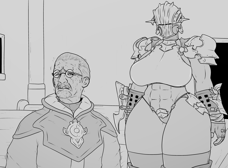 FF14: Church Going Knight