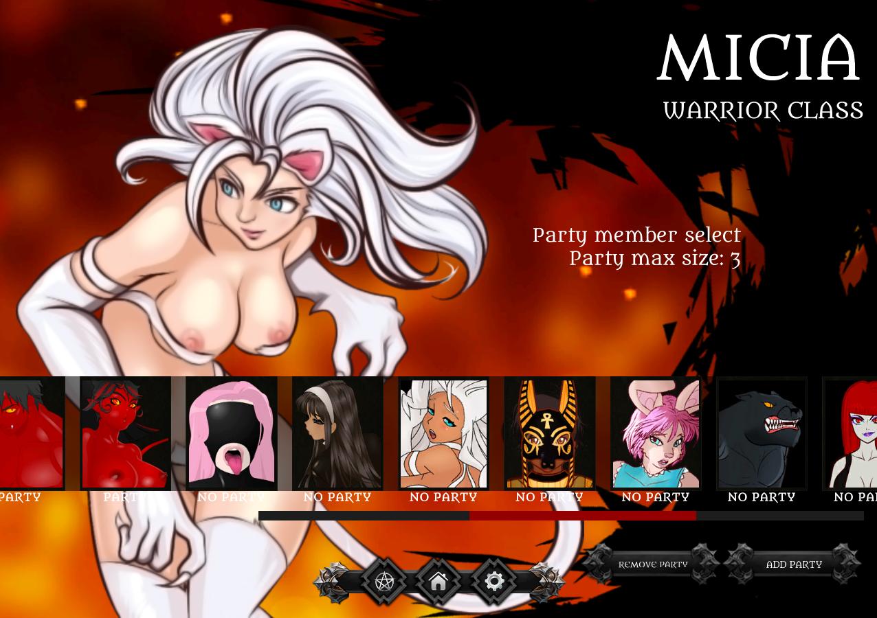 Party Select Screen - tlol