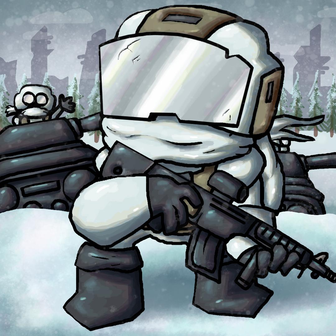 Snow Tankman