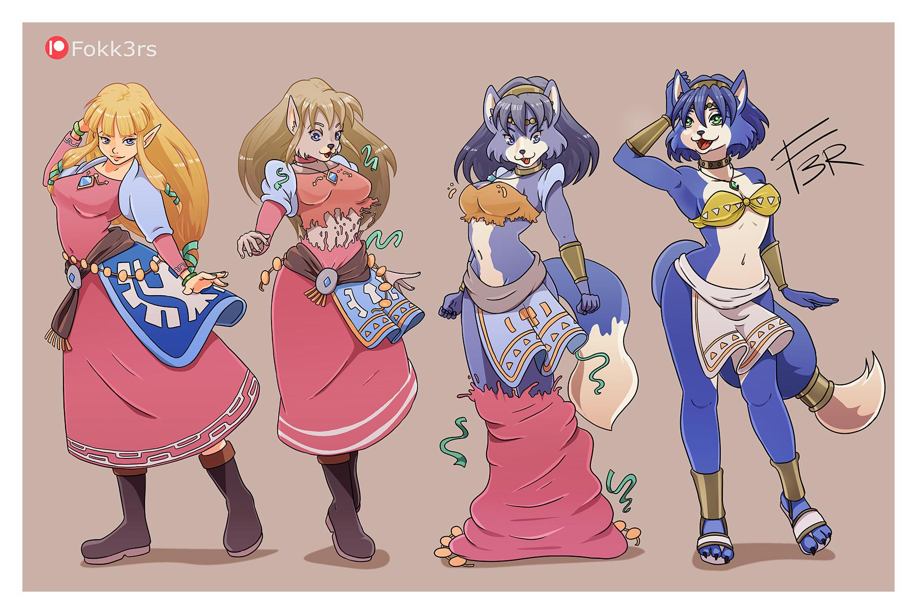 Zelda to Krystal TF