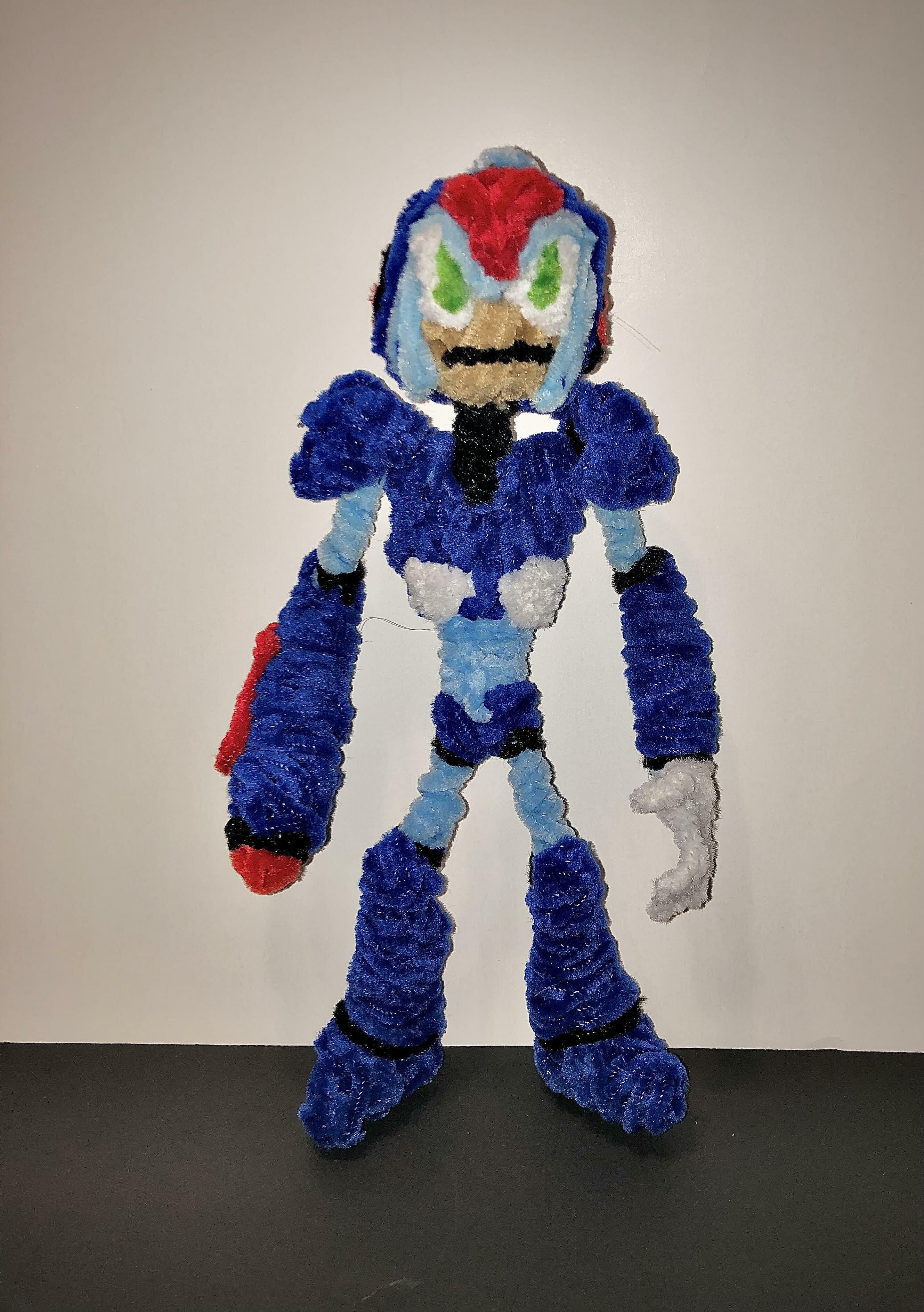 Mega Man X pie cleaner
