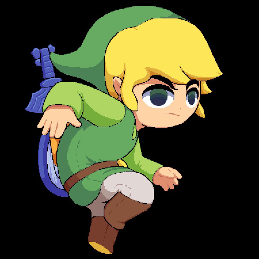 Toon Link Pixelart