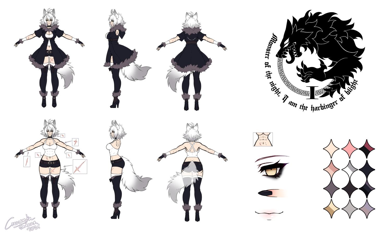 Ylva charactersheet