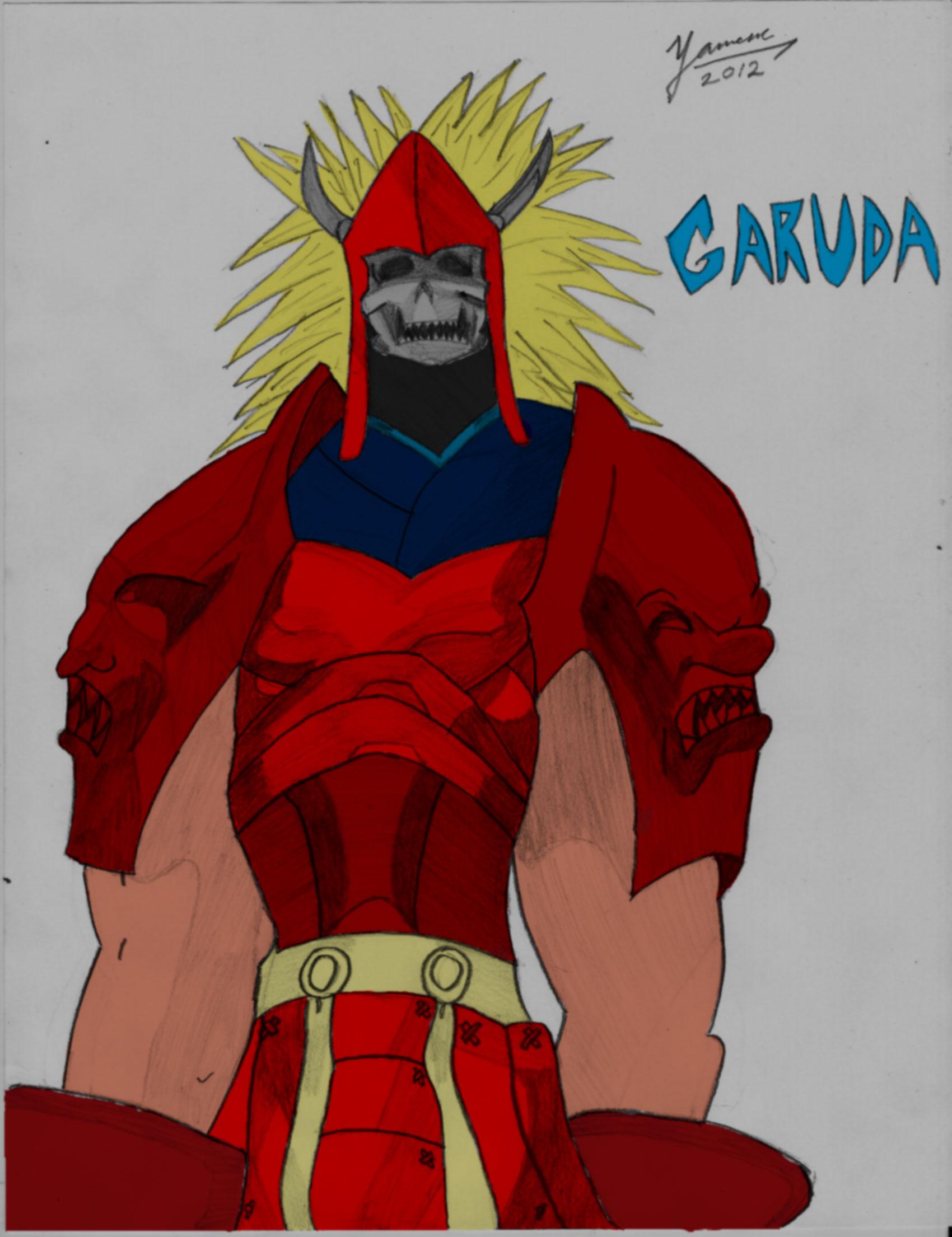 Garuda Colored