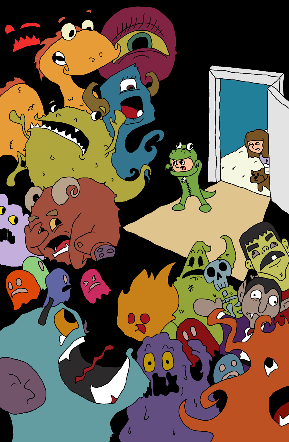 Monsters in the closet