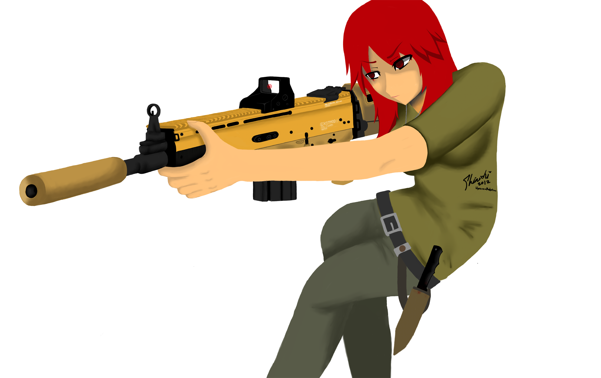 Ruby the Mercenary