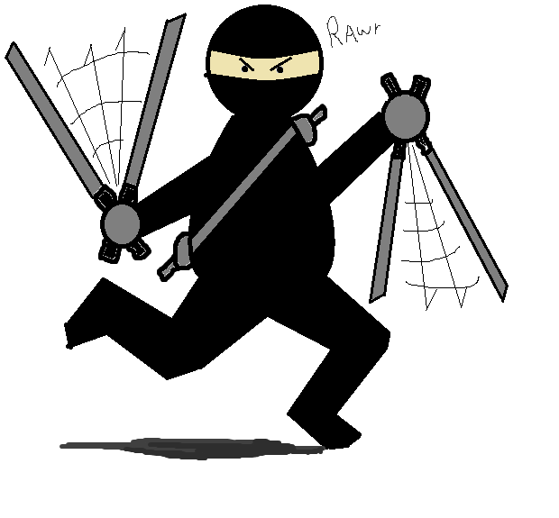 Out of Control Ninja
