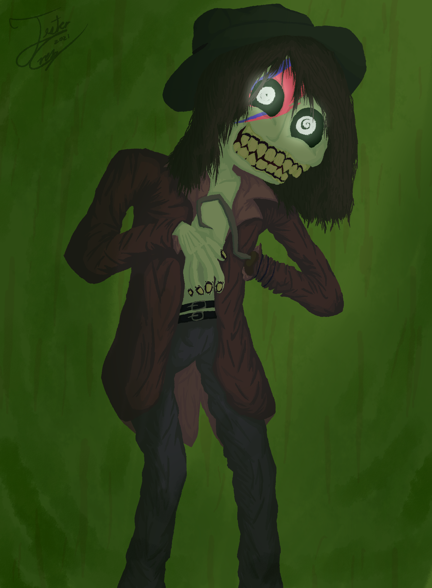 Zombie Cowboy from the space!!
