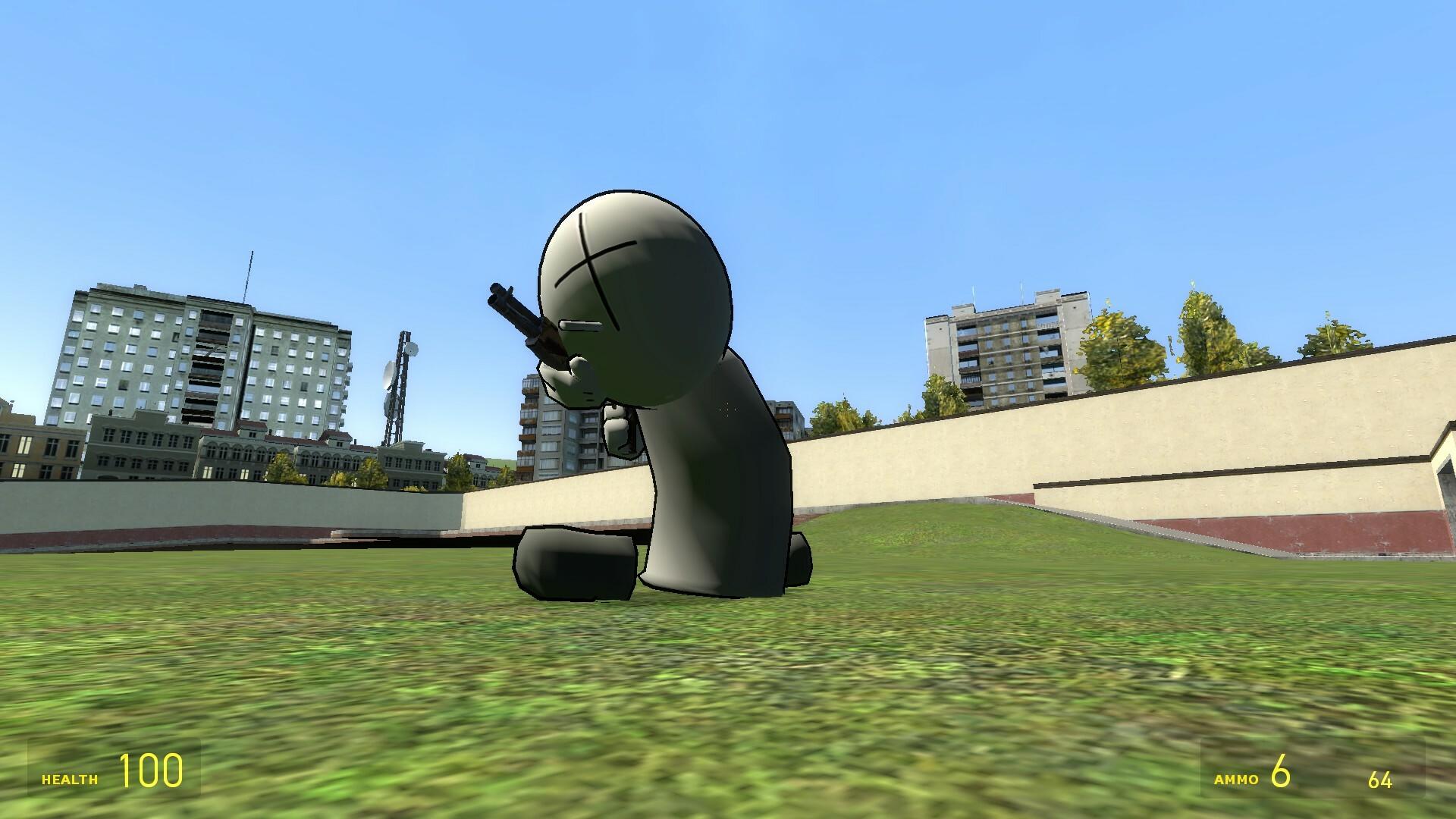 Madness Combat - Grunt 3D Model