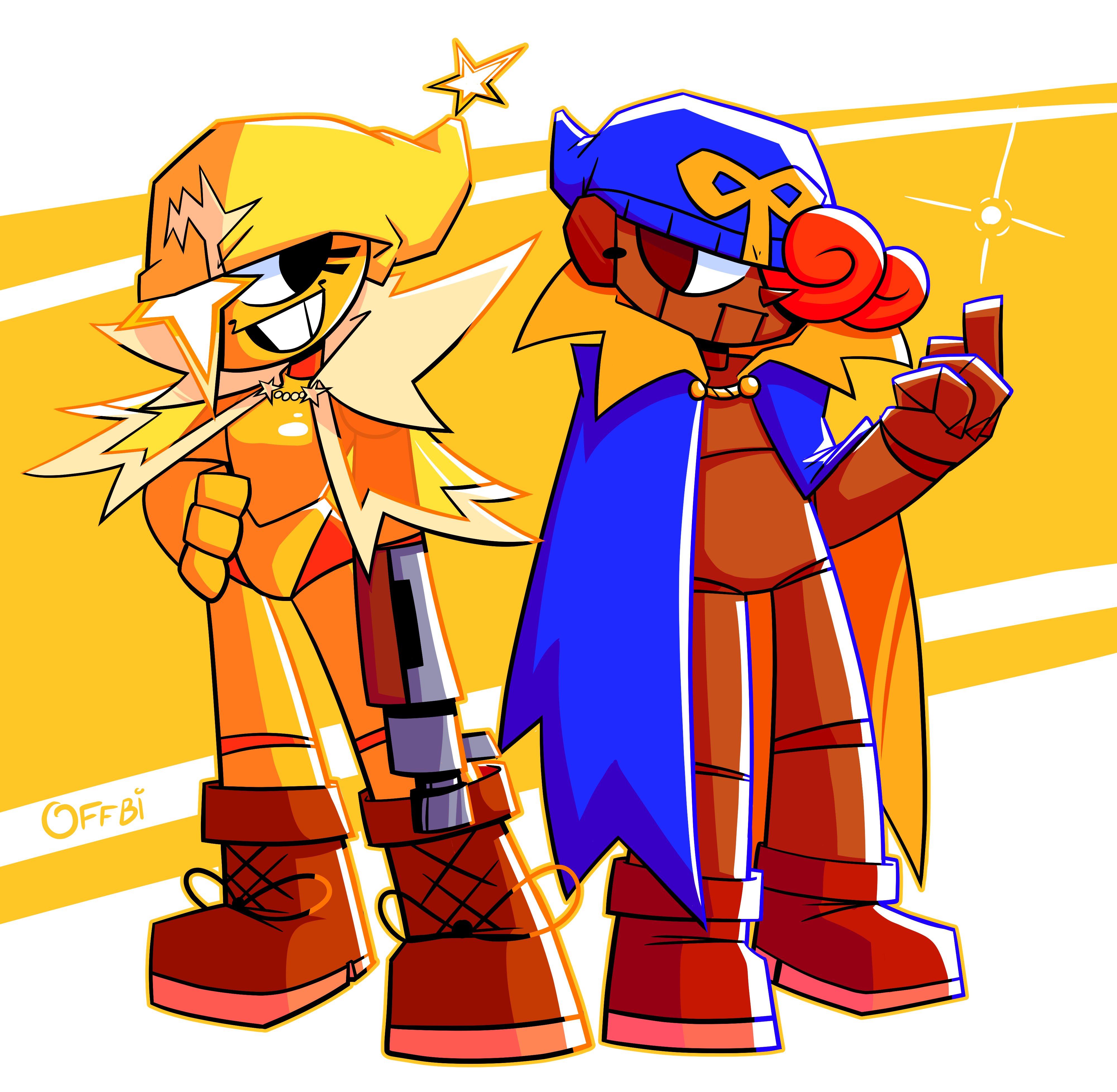 Starlow and Geno