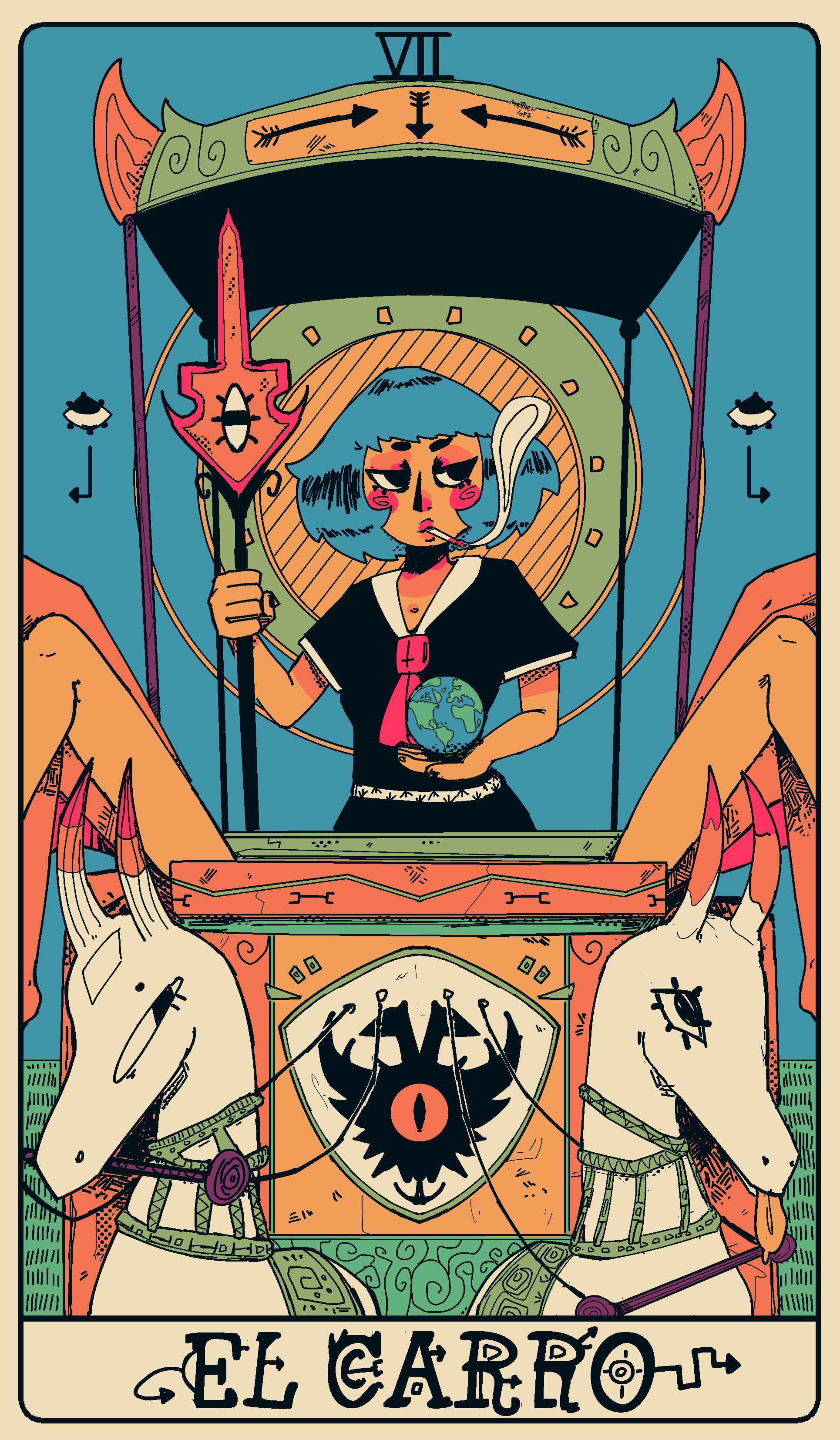 Tarot 7: The chariot