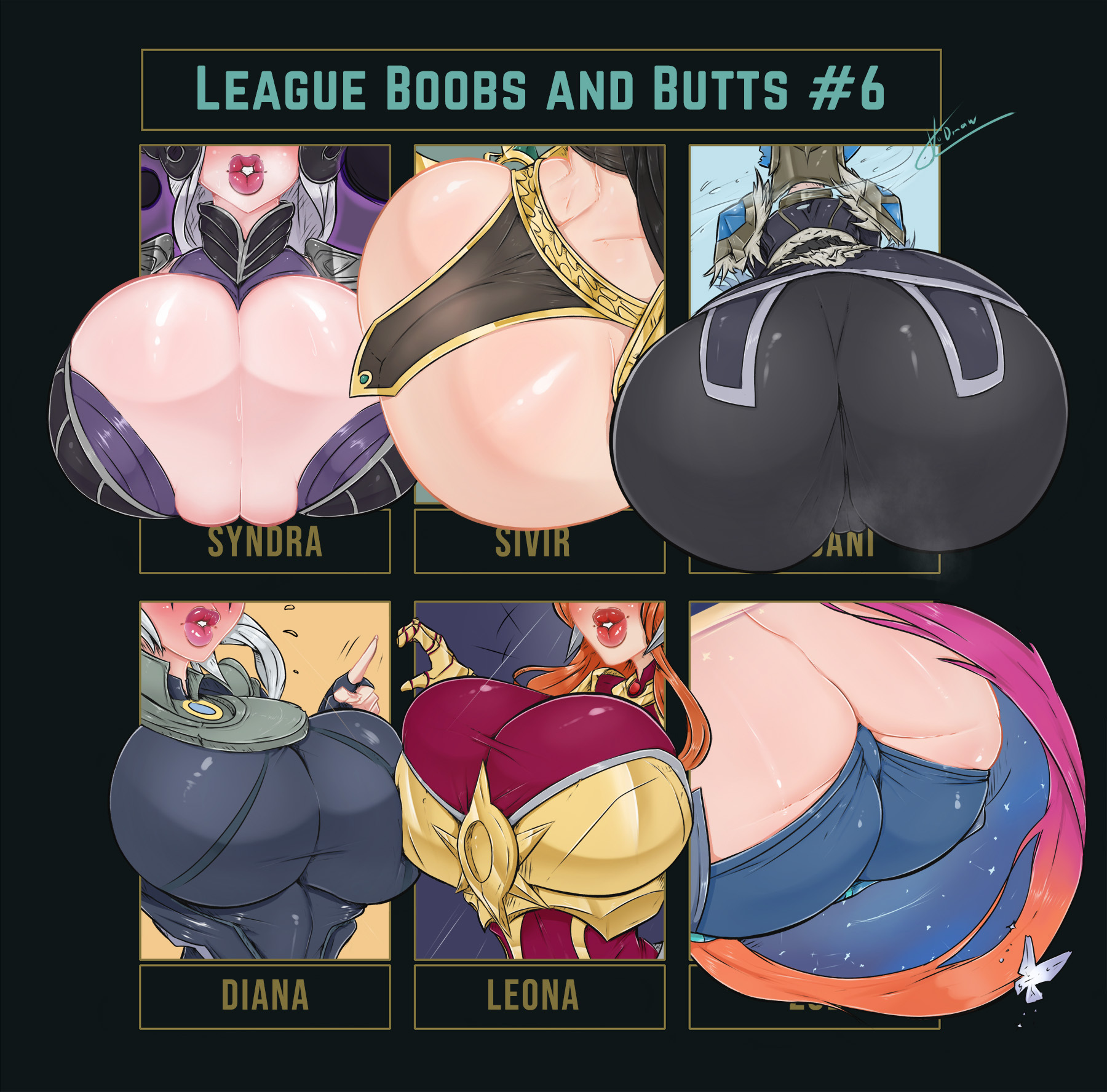 League Boobs and Butts #6
