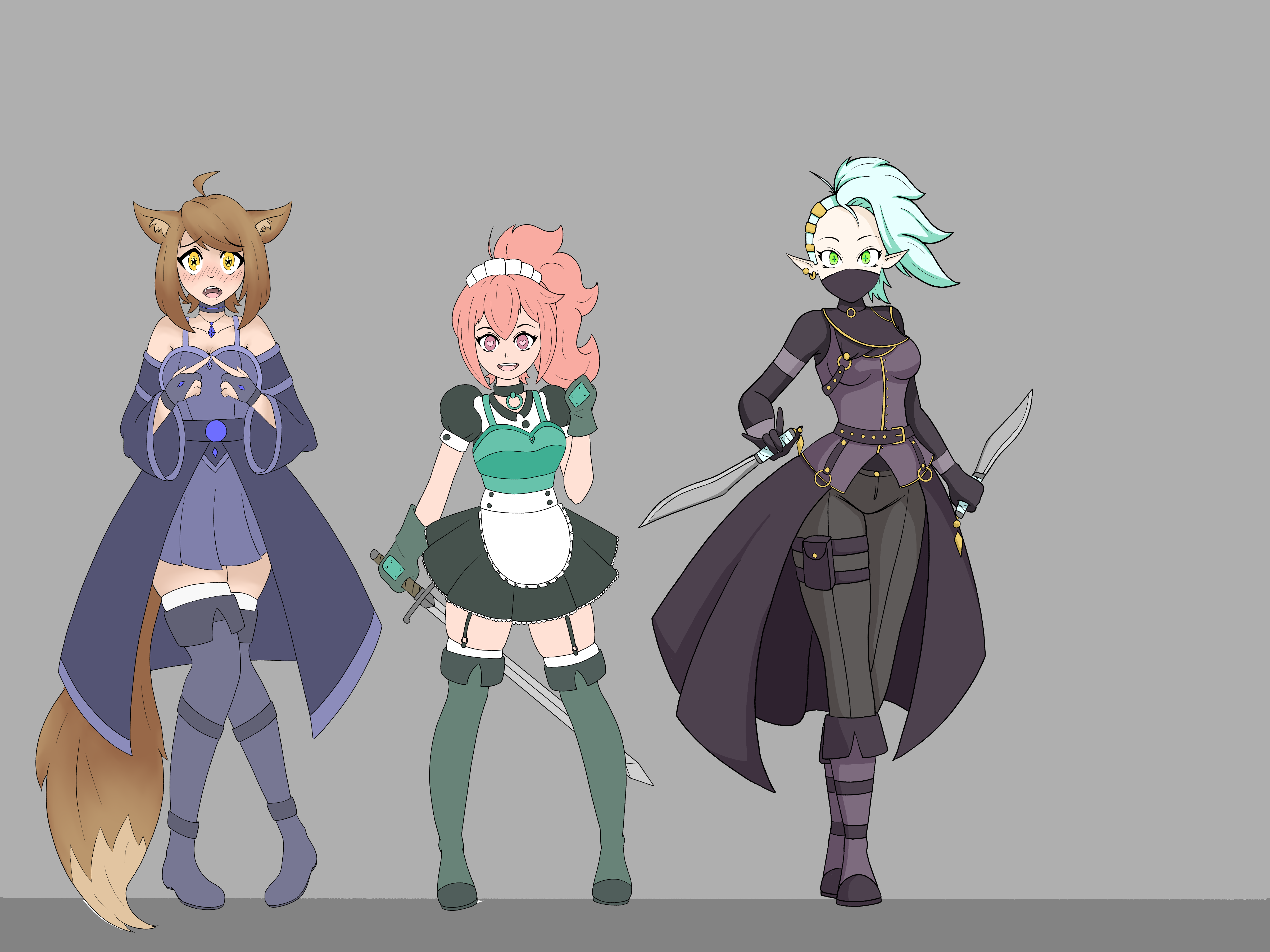 story character group