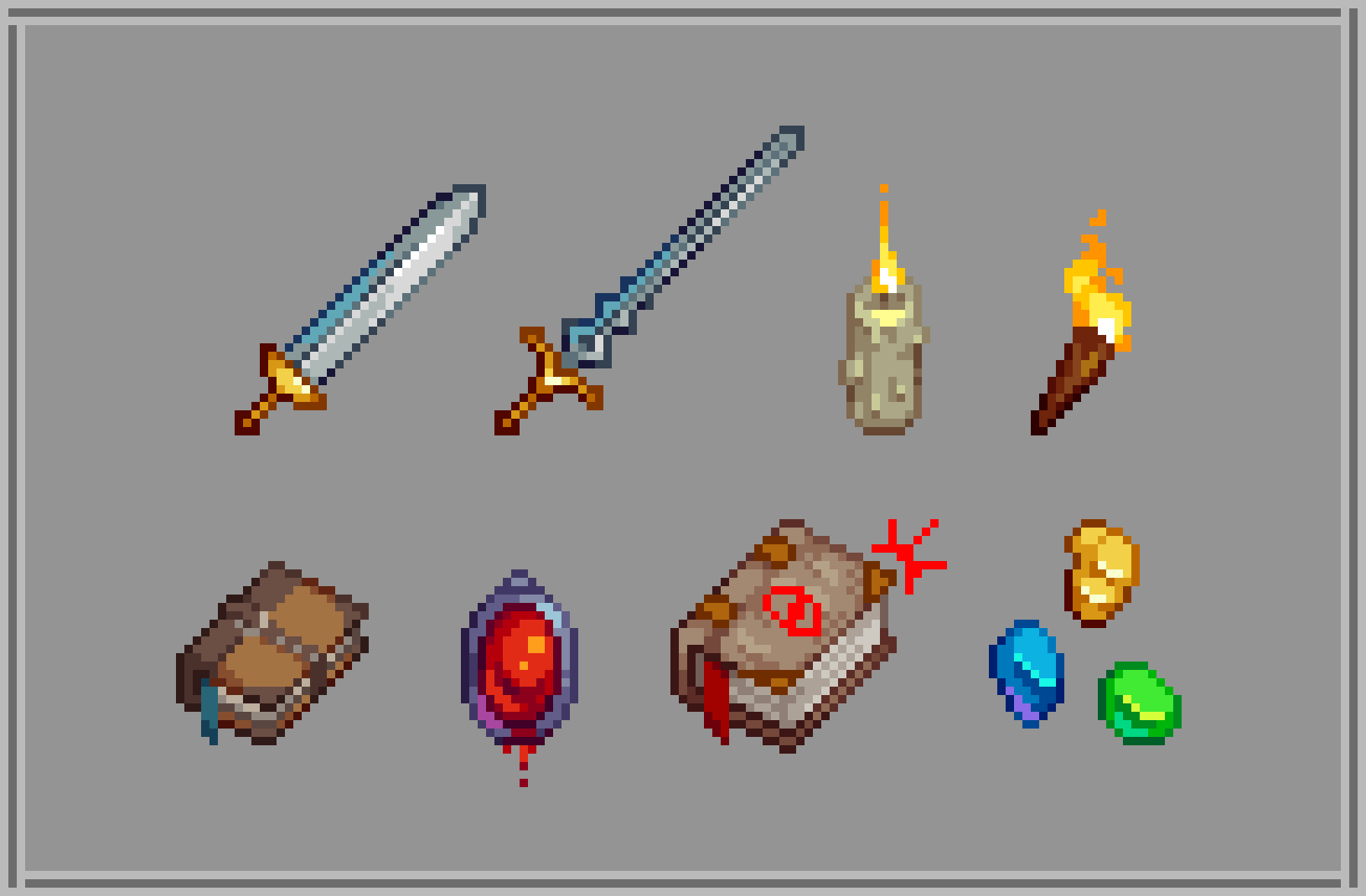 Some Medieval Themed Sprites