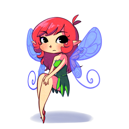 red head fairy