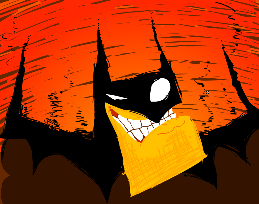 """Bat outta hell"""