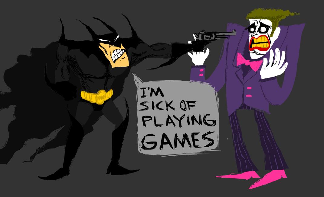 Batman is sick