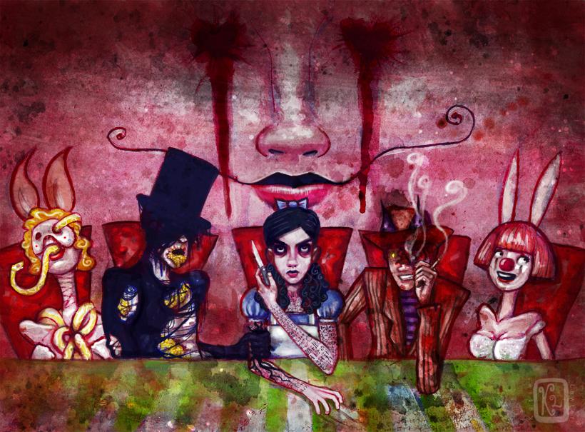 Nightmares in Wonderland