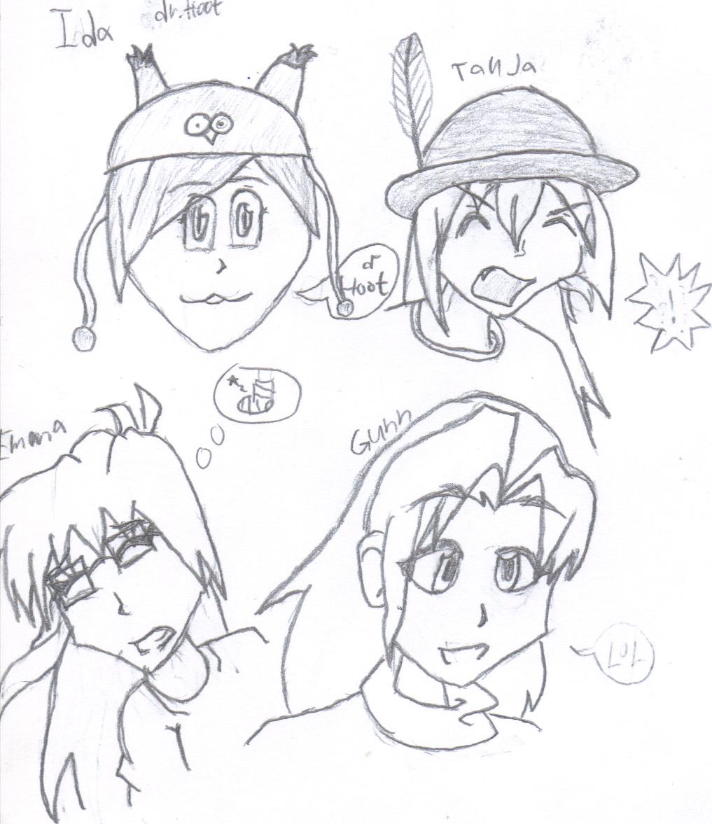 the anime gang
