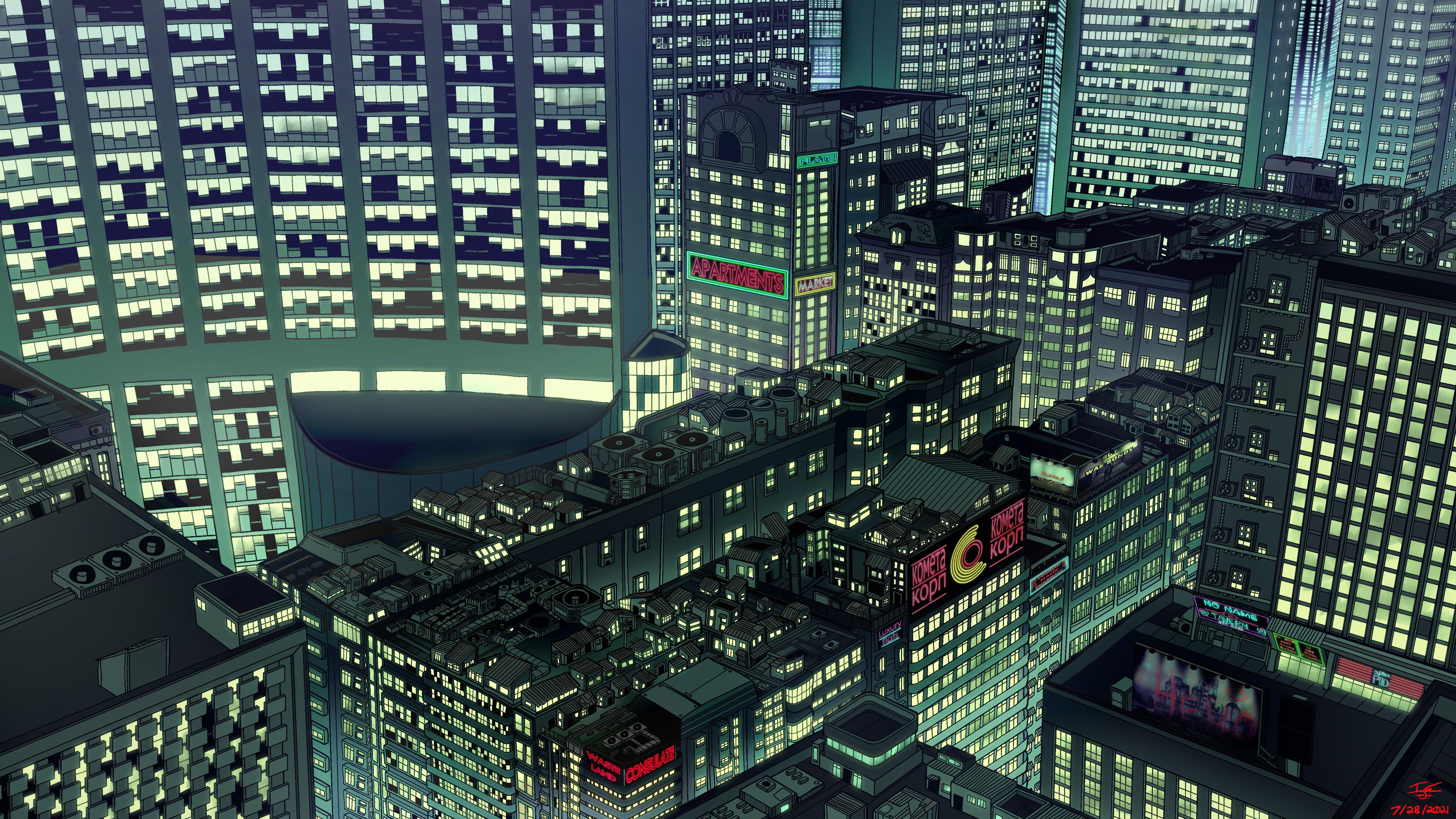 New Wall City