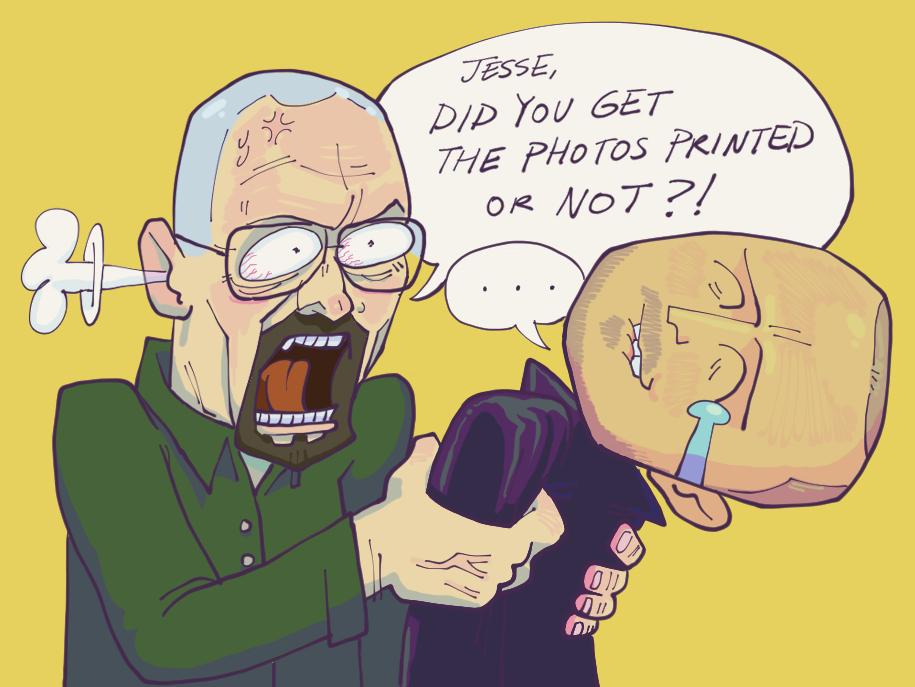 Jesse Pranks Walt