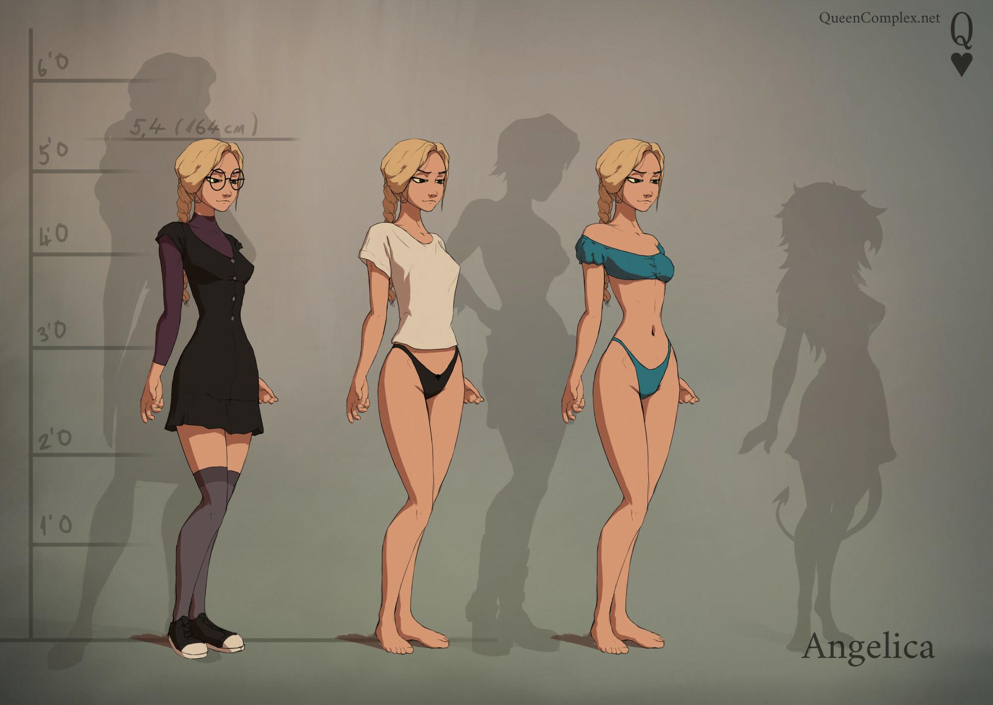 Angelica Concept Art 1
