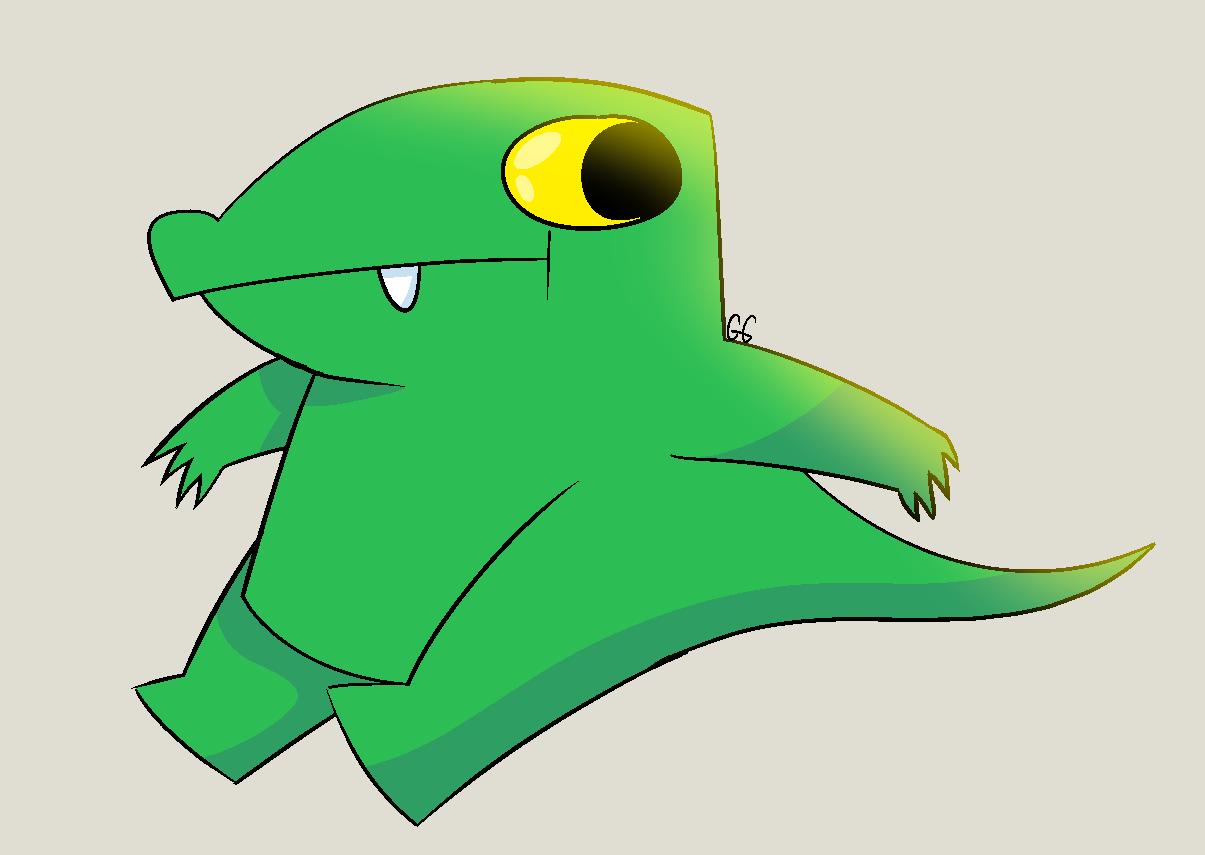funny lil alligator