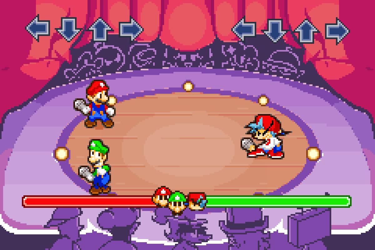 Mario and Luigi Funkin Fever