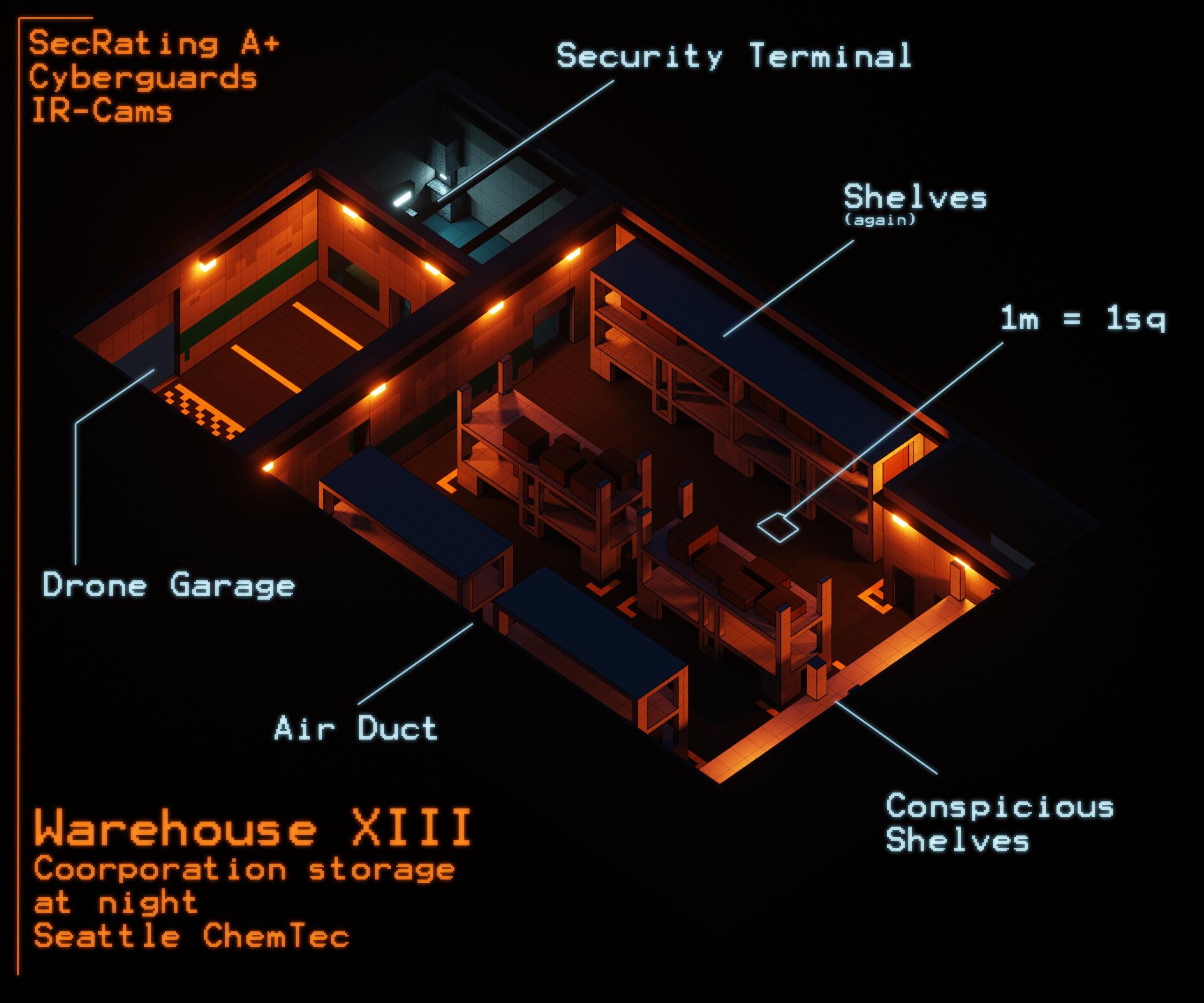SR Maps - Warehouse night